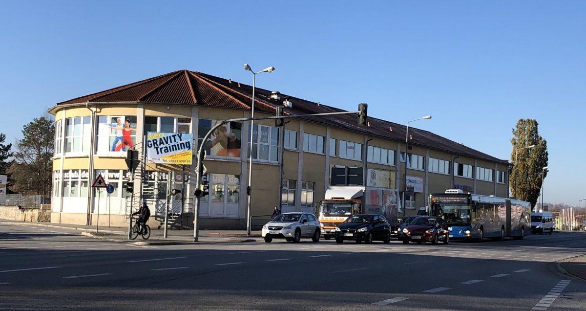 Eingang MK Fitnessclub in Pirna