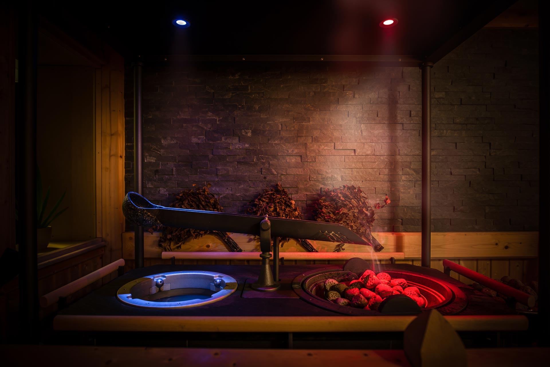 Sauna Aufgussanlage